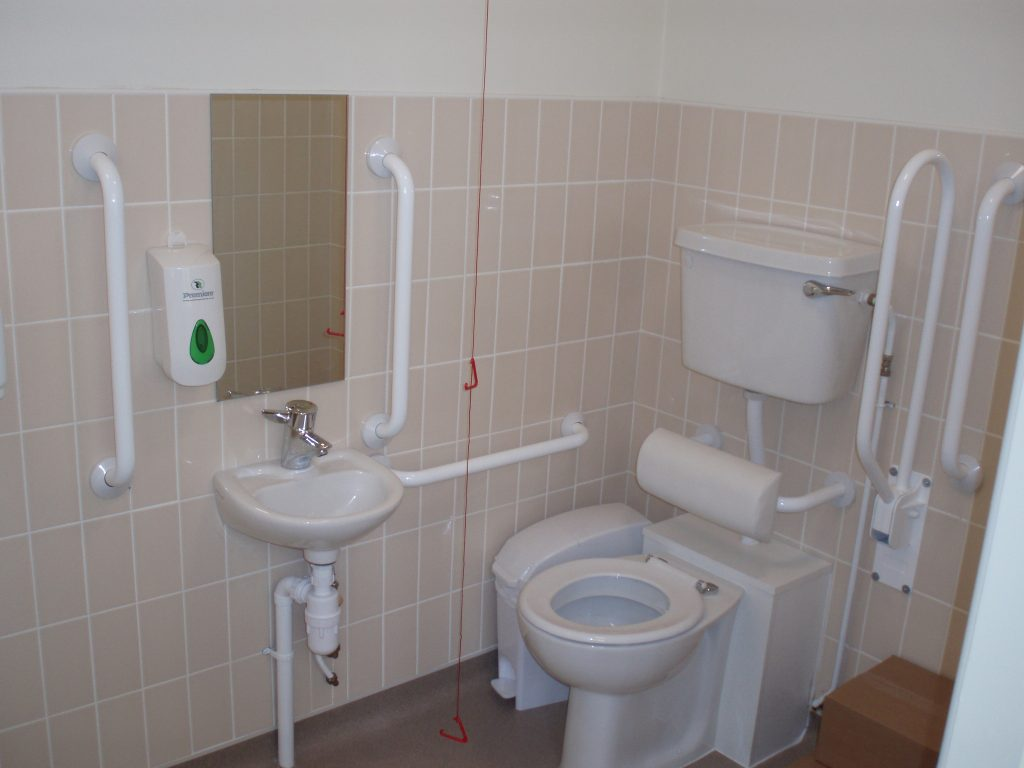 DDA toilet in job centre